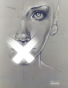 Cross. Sketch by sashajoe on deviantART