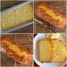 A tangy delicious sweet Easy Lemon Bread Recipe. A moist sweet homemade loaf wit… A tangy delicious sweet Easy Lemon Bread Recipe. A moist sweet homemade loaf with a simple glaze, perfect for every occasion. Loaf Recipes, Lemon Recipes, Cooking Recipes, Easy Recipes, Delicious Recipes, Amish Recipes, Cooking Chef, Yummy Food, Bon Dessert