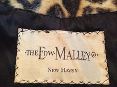 Beautiful Vintage Styled  Label