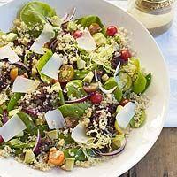 ... food. - W.C. Fields on Pinterest | Lentil Salad, Edamame and Quinoa
