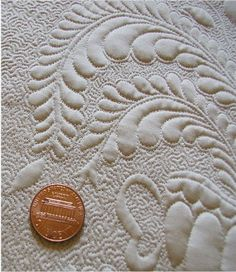 """micro"" or ""heirloom"" quilting; great blog about it!"