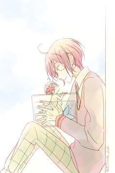 Drawn by JUSTIS ... Free! - Iwatobi Swim Club, free!, iwatobi, haruka nanase, haru nanase, haru, nanase, haruka, rin matsuoka, matsuoka, rin, merman