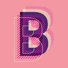 Letter B typography vector. Choose from thousands of-Buchstabe B Typografie Vektor. Wählen Sie aus Tausenden von kostenlosen Vektoren, ClipArt-Des… Letter B typography vector. Choose from thousands of free vectors, clip art designs, - Graphic Design Posters, Graphic Design Typography, Lettering Design, Graphic Design Inspiration, Type Posters, Japanese Typography, Poster Designs, Simple Poster Design, Graphic Art