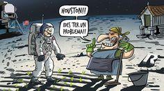 Neil Armstrong, Houston, Humor Grafico, Tv, Memes, Peanuts Comics, Funny, Slime, Cartoons