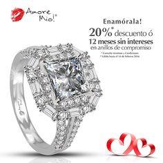 Anillo de Oro Blanco 14kt WG1430319 Diamante Princess 0.80 quilates. Color- E, Claridad VS1 Laboratorio - EGL(EC), SKU Diamante: 92378,Piedras Laterales: 1.15 pts, Precio: $187,776.67 pesos M.N -20% = $150,221.33 pesos M.N. *Consulte términos y condiciones.