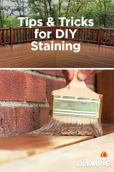 Staining your own deck? Learn what tools you will need before you head to the store with this quick how-to video. Diy Projects To Try, Home Projects, Floors And More, Outdoor Rooms, Outdoor Ideas, Decks And Porches, Home Repair, Painting Tips, Porch Decorating