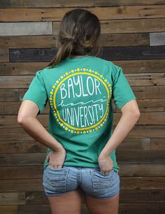 Is Baylor University YOUR University? Show your love for your school in this new BU Circle t-shirt! Sic 'em Bears!