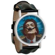 A Salvador Dalí watch (with a rotating mustache).