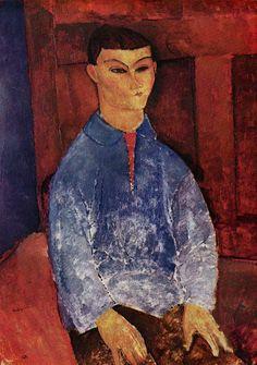 Moses Kisling by Modigliani PORTRAITS OF ARTISTS BY MODIGLIANI - Moïcani - The Odéonie