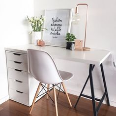 New room decor desk organizations 63 ideas Interior Design Photos, Office Interior Design, Office Interiors, Office Designs, Simple Interior, Room Interior, Home Office Furniture, Home Office Decor, Home Decor