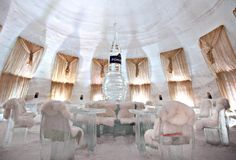 CANADA-MONTREAL-ICE HOTEL