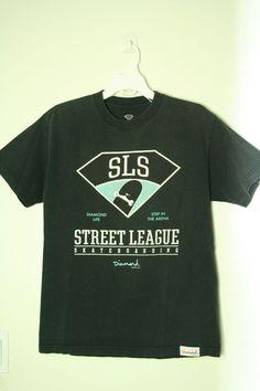 aeb20b73 Diamond Supply Co Street League Skateboarding T shirt size M  #DiamondSupplyCo #GraphicTee Diamond Supply