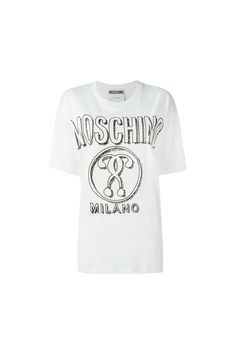 {Moschino / 01 clothing / 04 knitwear / 01 t-shirt} Question Mark T-Shirt