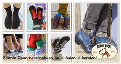 De #Aanbieding van #Bonnie #Doon  bij  #Underfashion op #Herensokken:  Tot en met 22 maart loopt de Bonnie Doon herensokken 5 halen 4 betalen actie. Kies er 5 en je ziet de korting direct in je winkelwagen. Sla meteen ook in voor de zomer met bijvoorbeeld speciale sokken voor in sneakers, die zijn extra laag zodat ze niet gezien worden, of teensokken!  Ga direct naar: www.underfashion.nl/heren-sokken/?merk=bonnie-doon