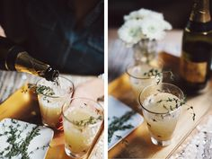 5 Wedding Menu Ideas for the California Foodie | Herb infused cocktails