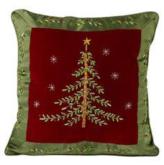 Christmas Tree Pillow.