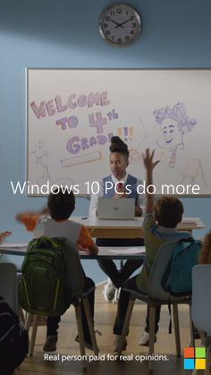 Toney Jackson teaches 4th grade with pure creativity. Windows 10 PCs do more. Just like you.