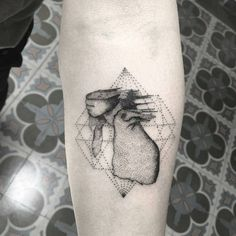 Coldplay arush of blood to the head Geometric Tattoos