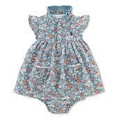 For next summer? :]    Ralph Lauren Baby Dress, Baby Girls Floral Mesh Dress