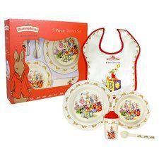 Bunnykins Melamine 5 Piece Dinnerware Set