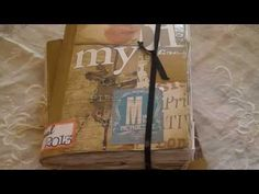 Everyday Journal   Watch this again for ideas  Sort of smash book
