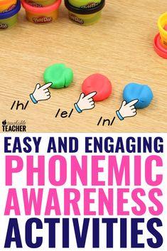 Beginning Phonemic Awareness Activities - A Teachable Teacher