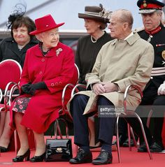 Queen Elizabeth II and Prince Philip, Duke of Edinburgh attend the opening of…
