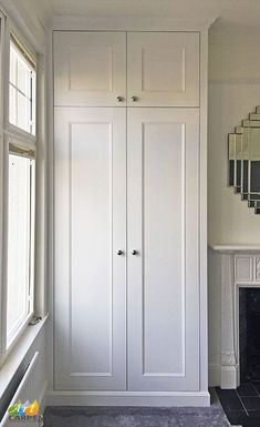 Children Room Wardrobe Cupboards 22 Ideas For 2020 Alcove Wardrobe, Bedroom Alcove, Bedroom Built In Wardrobe, Bedroom Built Ins, Bedroom Storage, Wardrobes For Bedrooms, Closets, Wardrobe Closet, Hallway Cupboards