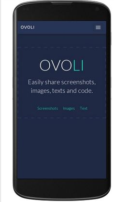 Ovoli is one of the #easy_screenshot_sharing app and a perfect mode of communication between the designer, developer or clients.
