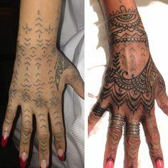 maori hand tattoo More