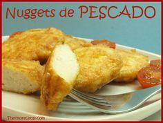 Con estos Nuggets de pescado lograrás que los niños coman pescado de forma divertida. Prepara para cenar estos nuggets de pescado y no dejarán ni las migas.