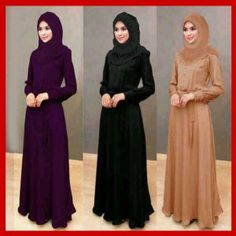baju gamis muslim terbaru 2015
