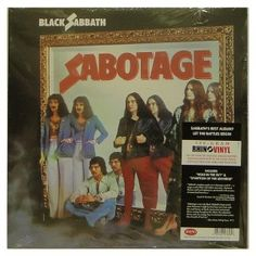 #BlackSabbath – #Sabotage - #vinil #vinilrecords #music #rock