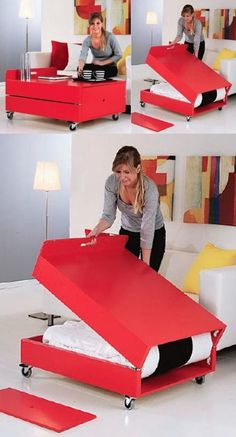 Coffee Table Hide A Bed