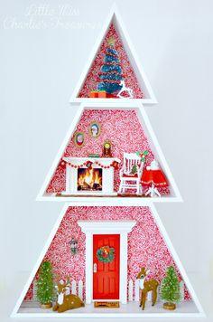 Fairy Door At Christmas Time Nissed 248 R P 229 K 248 Kkenbordet