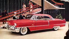 THE FABULOUS 50'S - FROM FLATHEADS TO FINS! - 1956 CADILLAC COUPE DEVILLE