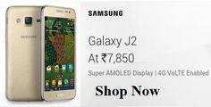 Samsung Galaxy J2 at Rs. 7,850  Shop Now