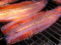 Cooking Gluten Free with Bea: Molasses Brined and Smoked Rainbow Trout Rainbow Trout Recipes, Salmon Recipes, Fish Recipes, Rainbow Trout Recipe Baked, Seafood Recipes, Tilapia Recipes, Game Recipes, Smoked Trout, Smoked Fish