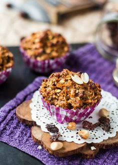 Do you like muffins?These banana oatmeal muffins is your best choice in this case. Banana Oatmeal Muffins, Banana Oats, Gluten Free Muffins, Kitchenware, Slow Cooker, Healthy Recipes, Treats, Vegan, Breakfast
