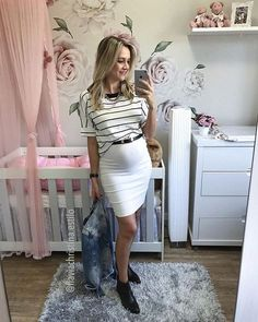 25 Stylish Maternity Outfits For Summer Maternity Dresses Summer, Cute Maternity Outfits, Stylish Maternity, Pregnancy Outfits, Maternity Fashion, Maternity Style, Girl Fashion, Fashion Looks, Fashion Outfits