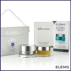 Share the #love of Pro-Collagen with this beautiful #Elemis25 limited collection. Give #thegiftofidaspa