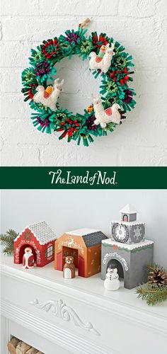 Celebrate the holidays with Land of Nod holiday decorations. From playful ornaments, unique stockings, tree skirts, holiday garland and more. Inspire your children's imagination this holiday season with advent calendars, and don't forget to decorate their rooms too with pint sized kids holiday decor.