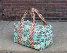 Hand Sewn Weekender Duffel bag!