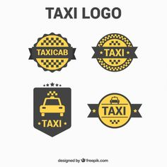 Beautiful minimalist logos for taxi service Free Vector Brand Design, Logo Design, Car Travel, Bright Lights, Logo Templates, Logos, Vector Free, Minimalist, Prom
