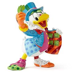 Enesco Disney by Britto by Enesco Uncle Scrooge Figurine, 6""