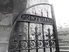Greyfriars Cemetery. Agreed by many to be the most haunted cemetery in the entire world....scratches, faintings, people getting horribly sick...something very dark is said to be there..sometimes paramedics stand outside the gates once tours are going on, apparently.