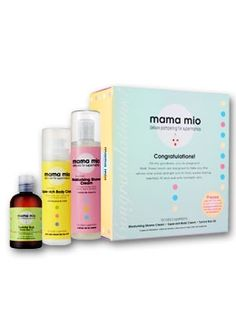 I swear by this! I used the Mama Mio Oil and did not get ONE stretch mark! Love, love, love!