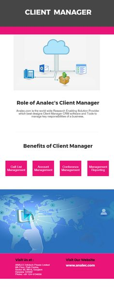 Analec  Client Management System Financial Research Investment