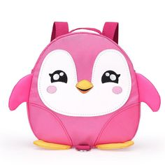77dcf8ce43 2017 New Style Cute Cartoon Penguin Mini Backpacks with Safety nylon tape  for Years Old Baby Toddler Walking Safety Backpack Little Kid Boys Girls  Anti-lost ...