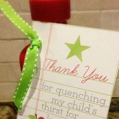 "20 ""Meet The Teacher"" Teacher Gift Ideas & Printables Spoonful"